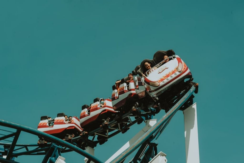 Take a Ride on the Roller Coaster - Las Vegas Dating Ideas