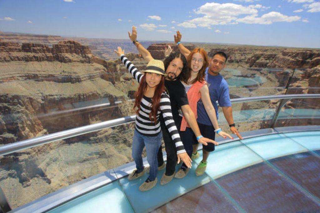 Walk the Skywalk - Las Vegas Dating Ideas