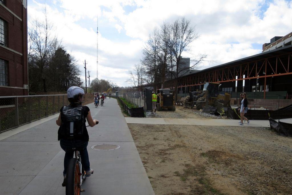 Cycling at the Atlanta BeltLine - Atlanta Dating Ideas