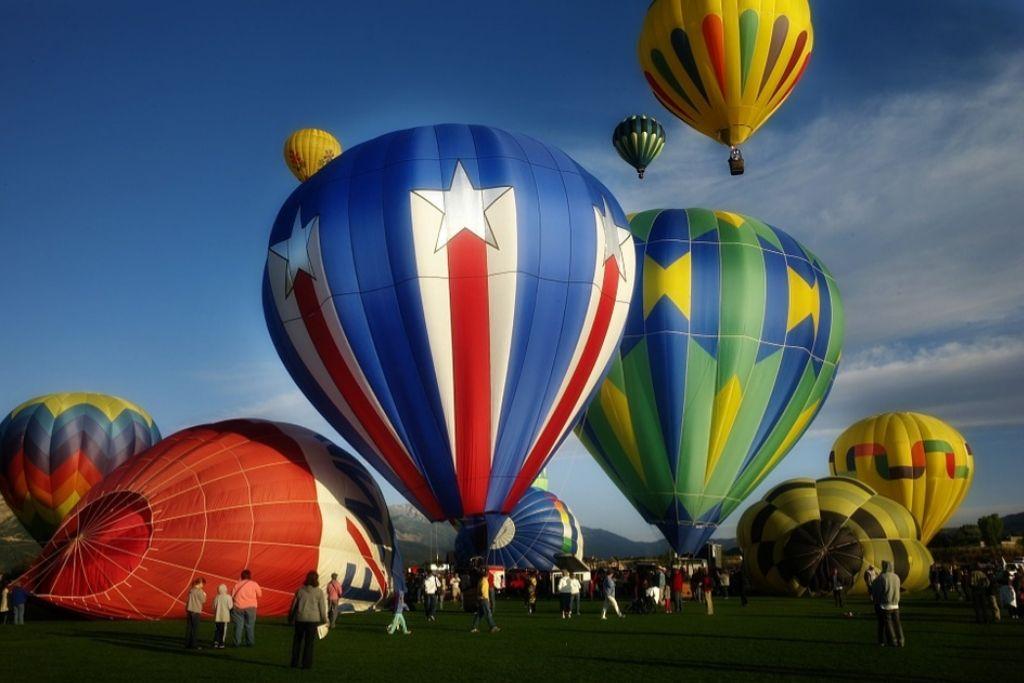 Go for a Hot Air Balloon Ride in Minneapolis.