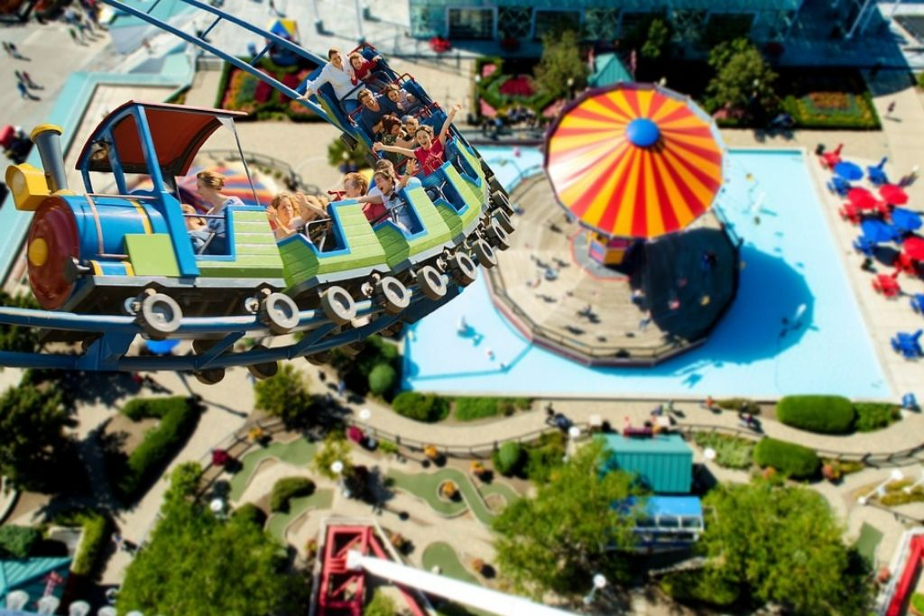 Head to a Theme Park in Tulsa