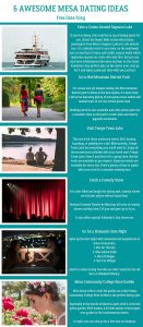 Infographics of 6 Awesome Mesa Dating Ideas - Free Dating Blog