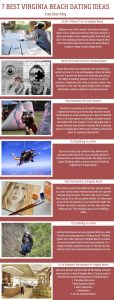 Infographics of 7 Best Virginia Beach Dating Ideas - Free Dating Blog