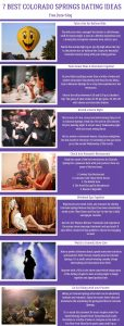 Infographics of 7 Colorado Springs Dating Ideas - Free Dating Blog