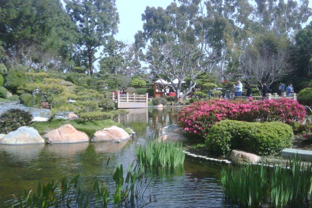 Stroll in the Japanese Garden - Long Beach Dating Ideas