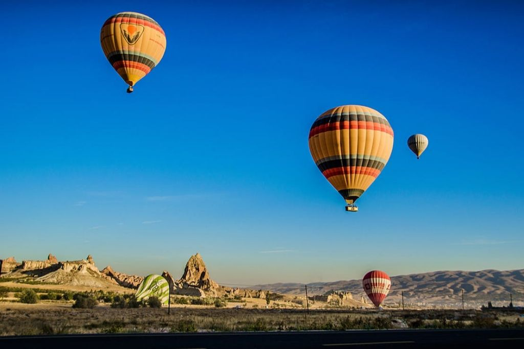 Take an Air Balloon Ride - Albuquerque Dating Ideas